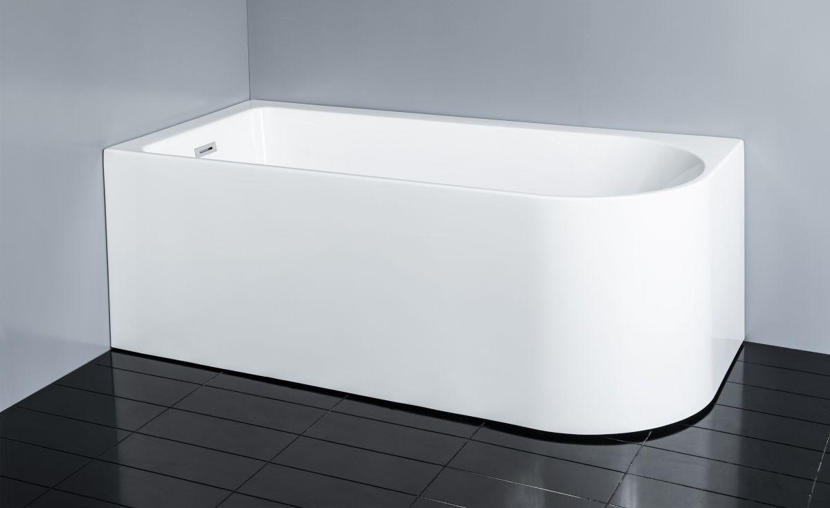 Curve Corner Bath