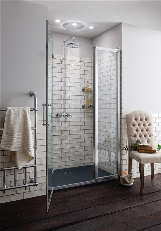 Eden Thermostatic Double Outlet, Swivel Shower Arm, Rose, Handset & Holder with Hose