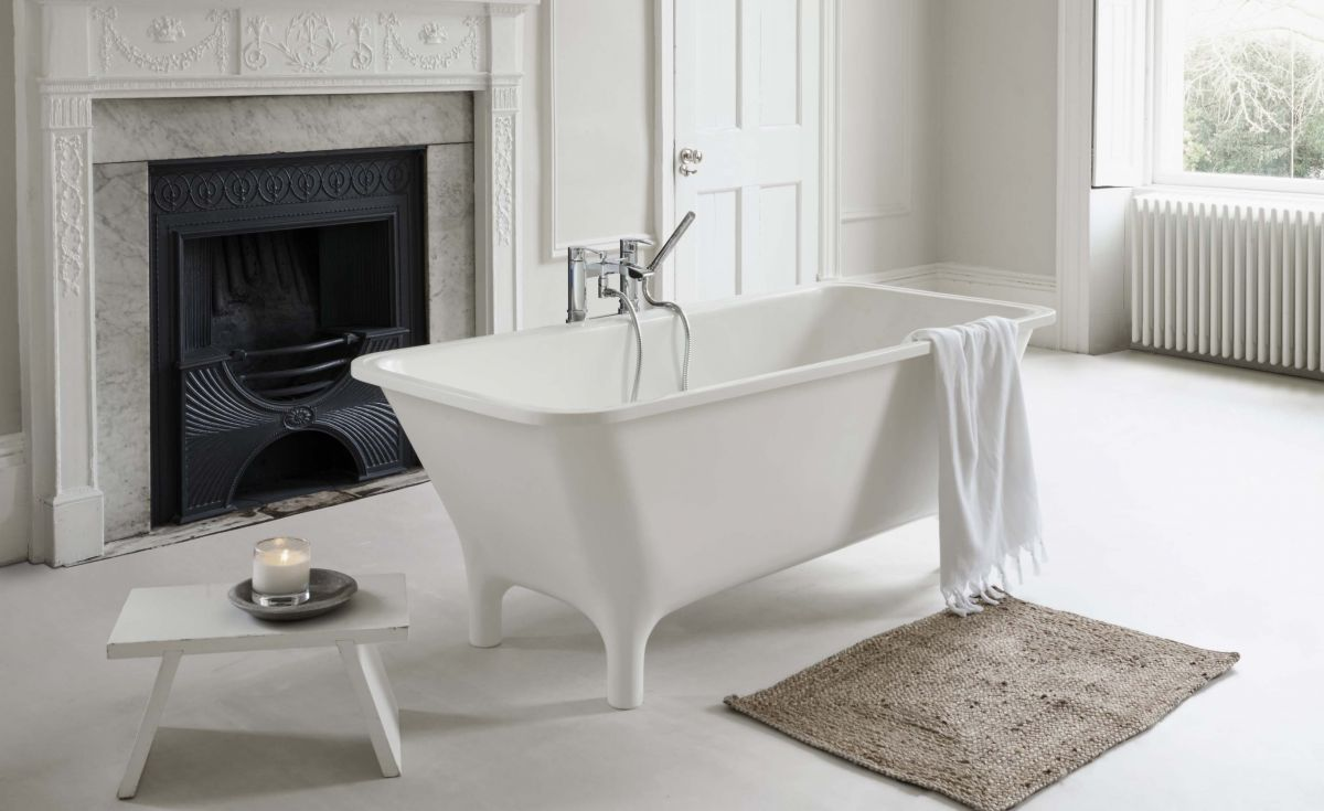 Lonio Freestanding Natural Stone Bath