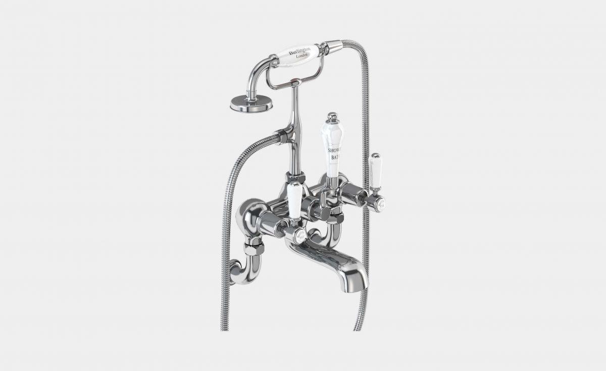 Kensington Wall-Mounted Bath/Shower Mixer