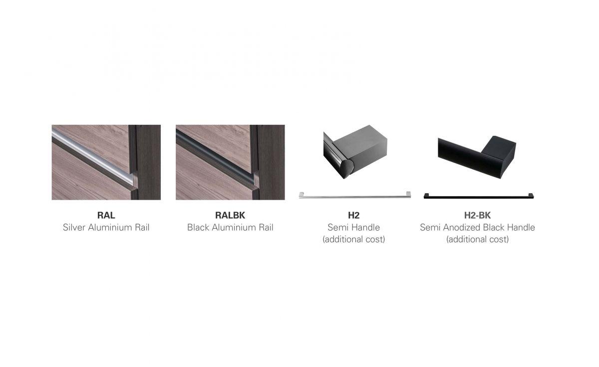 Rail / Handle Options