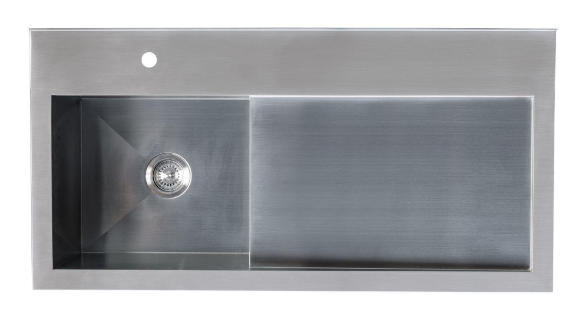 Horoi Stainless Steel Top - Left Tub