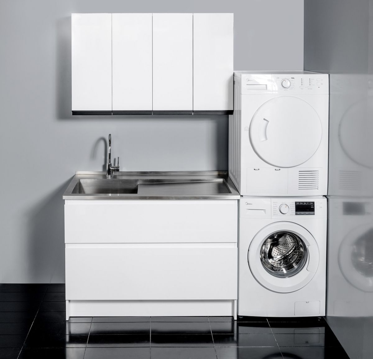 Horoi Top with 1200 Laundry Cabinet