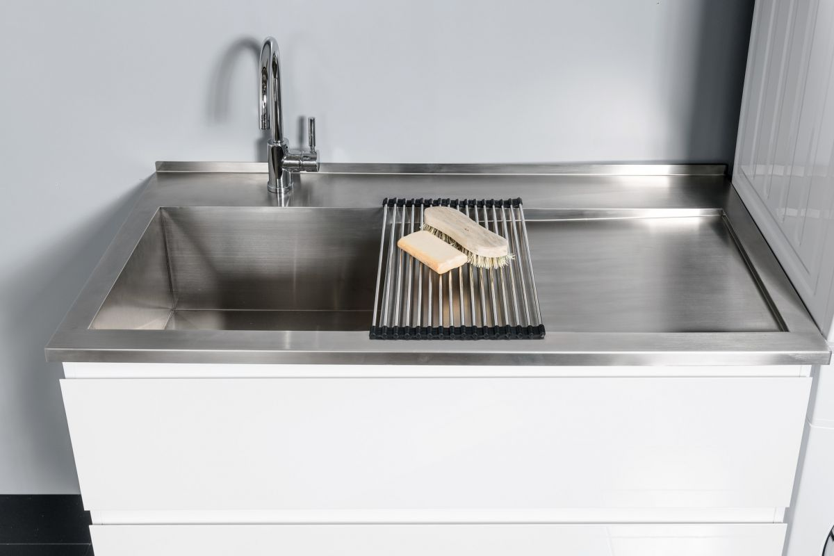 Horoi Stainless Steel Top with Rolling Mat