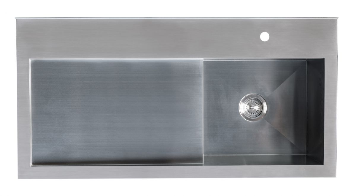 Horoi Stainless Steel Top - Right Tub