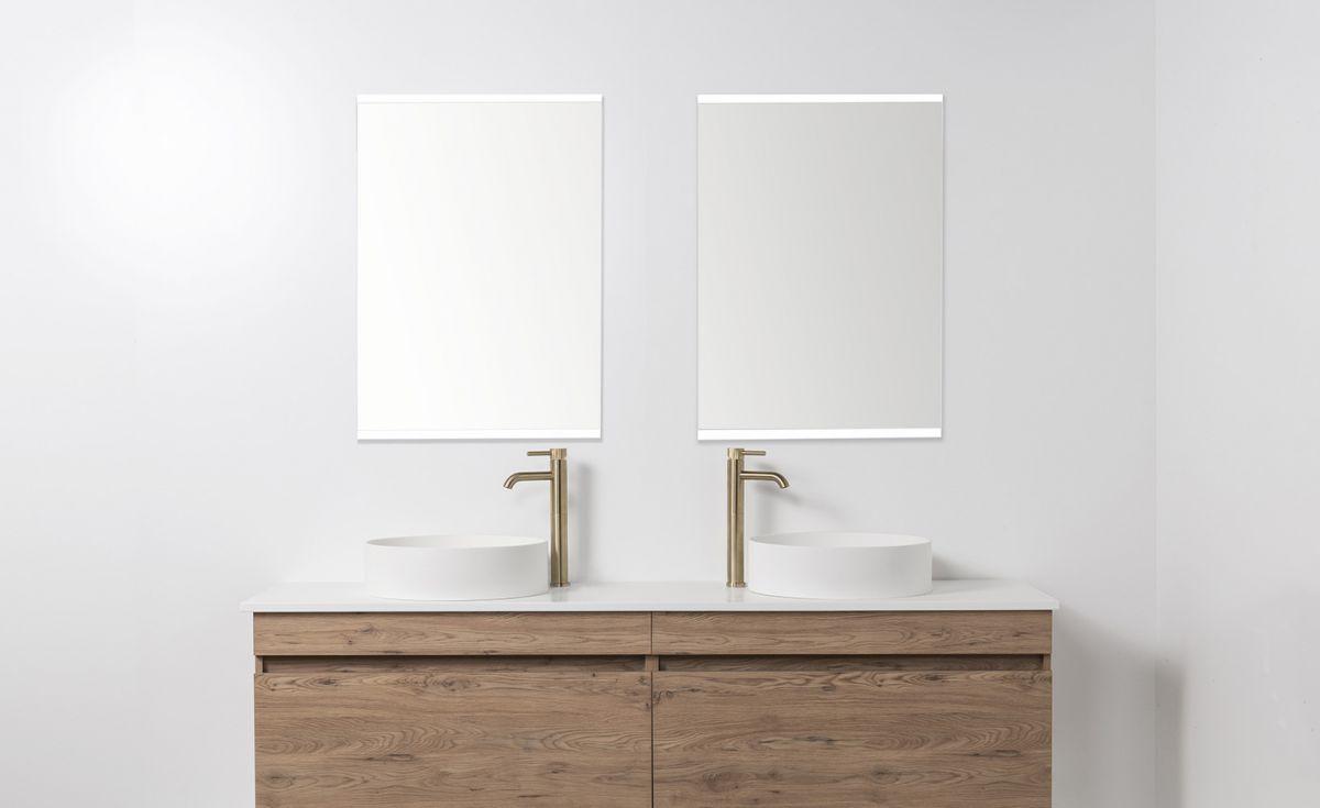 LED Light Mirror Rectangle 600 x 800