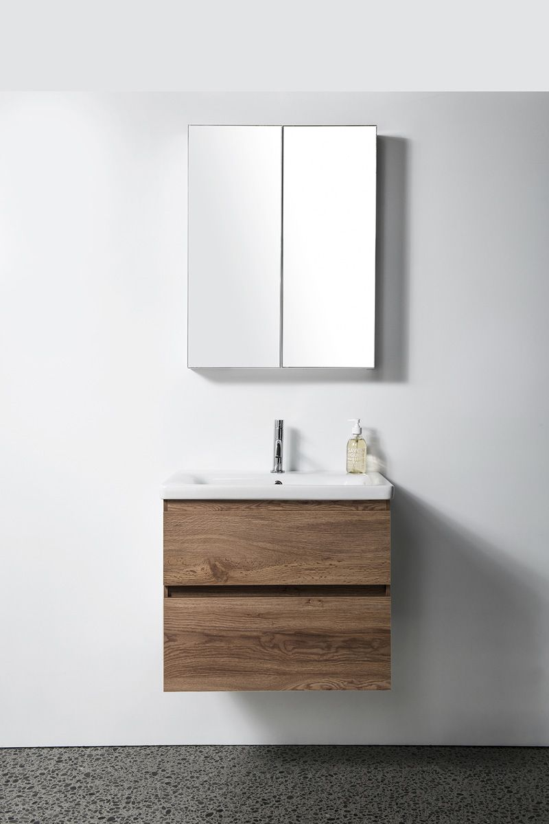 Soft Vanity - 650mm, wall-hung, 2 drawers
