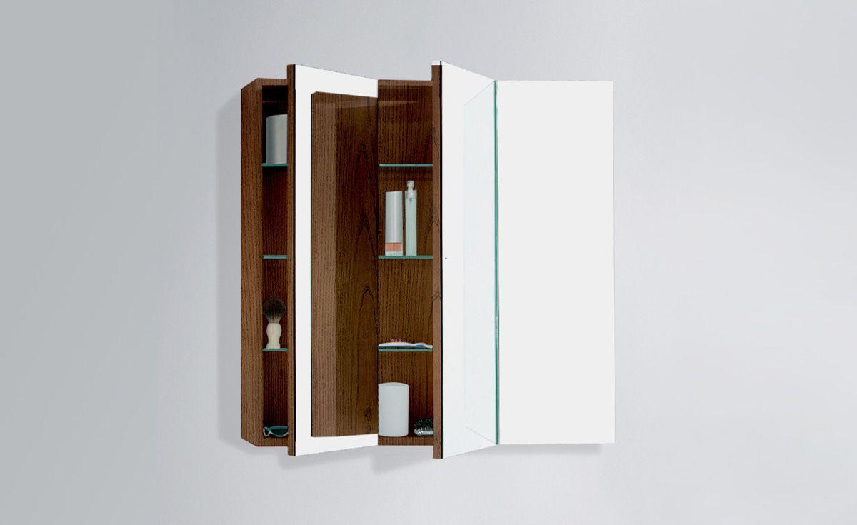 Mirror Unit 900 – 3 Doors, 6 Shelves