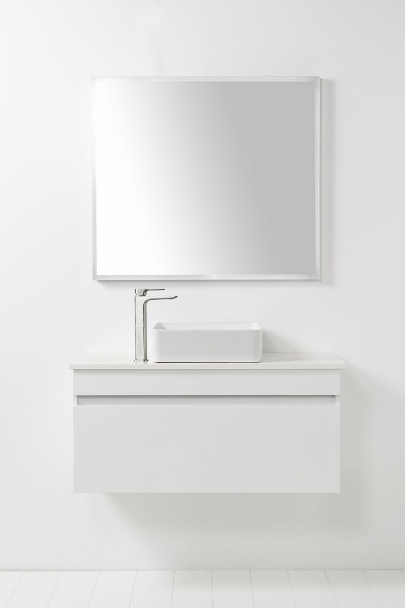Soft Solid Surface 1000 Wall-Hung Vanity 1 Drawer