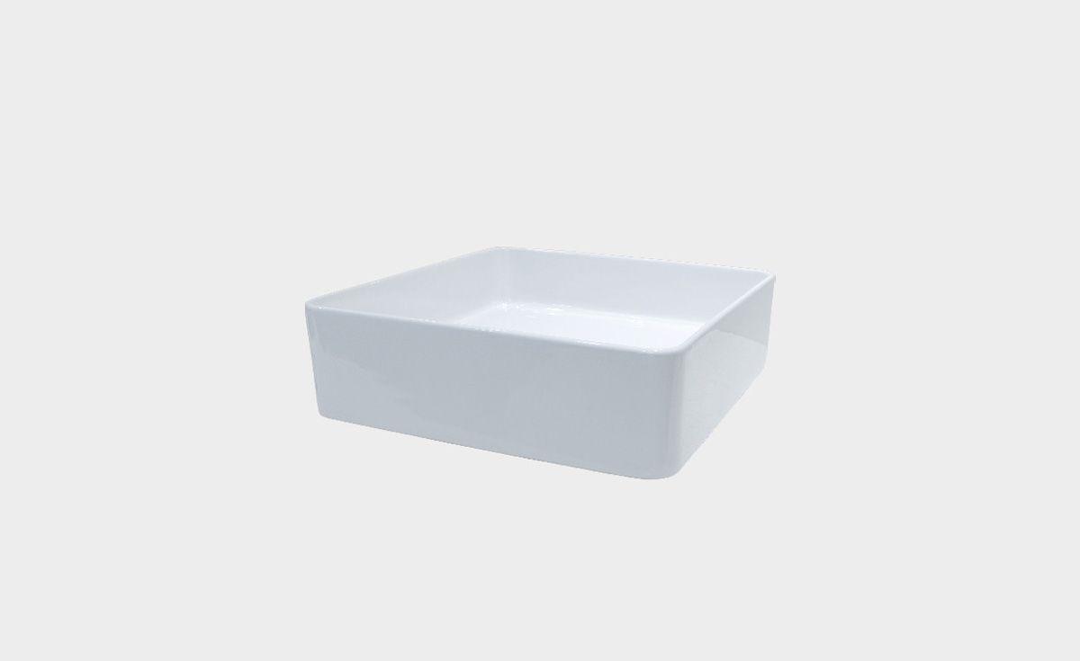 Sleek Square Counter Top Basin