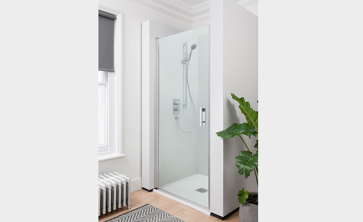 Lucca Alcove Shower Door