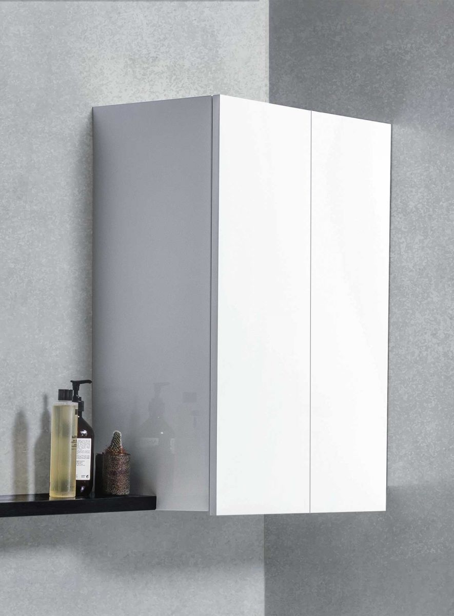 750 Laundry Cupboard in White