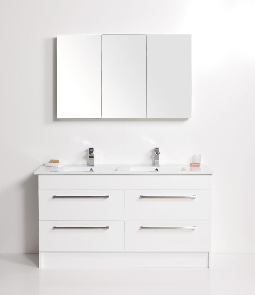 Zara 1500 4 Drawers, White