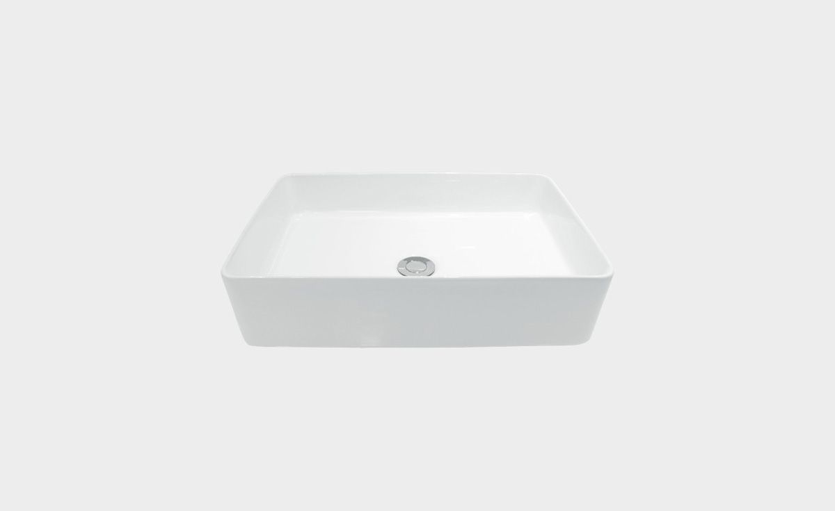 Sleek Rectangle Counter Top Basin