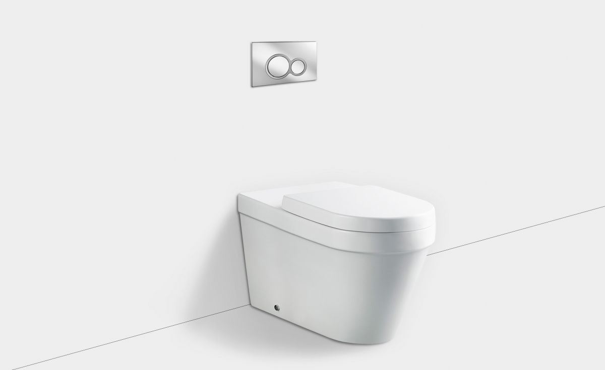Onda Accessible Extended Wall-Faced Toilet Suite