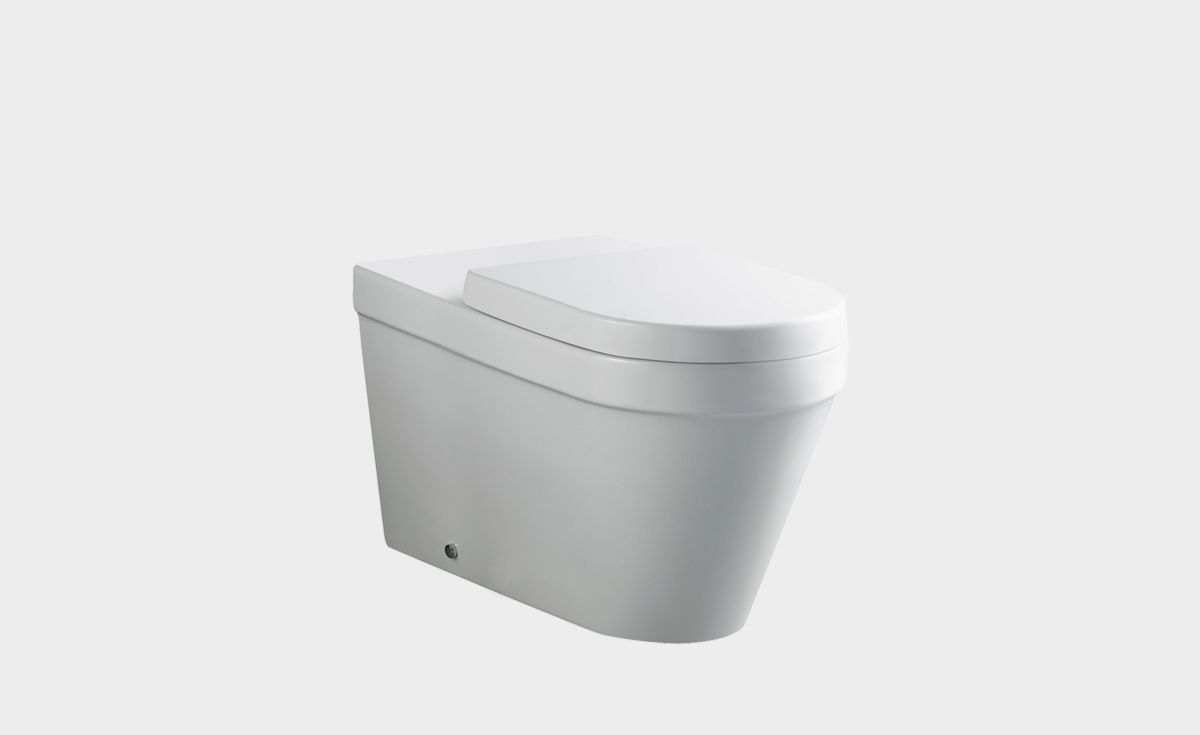 Onda Accessible Extended Back-To-Wall Toilet Suite