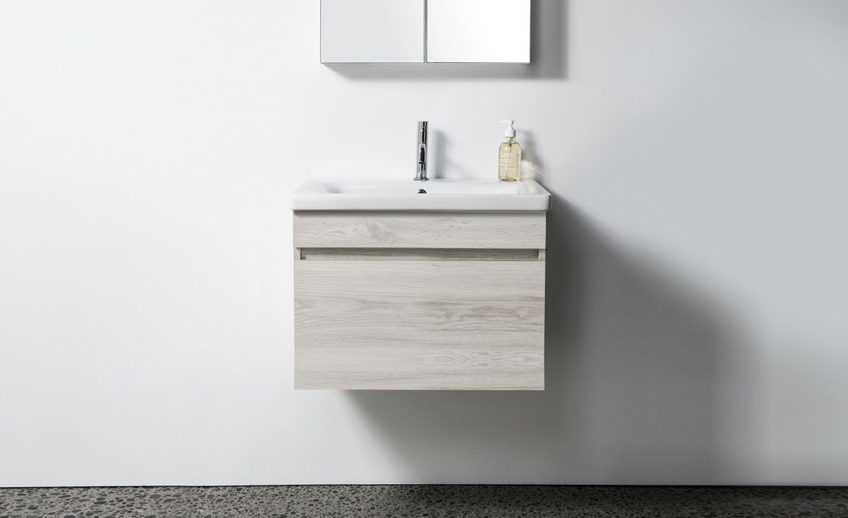 Soft 650 Wall-Hung Vanity 1 Drawer
