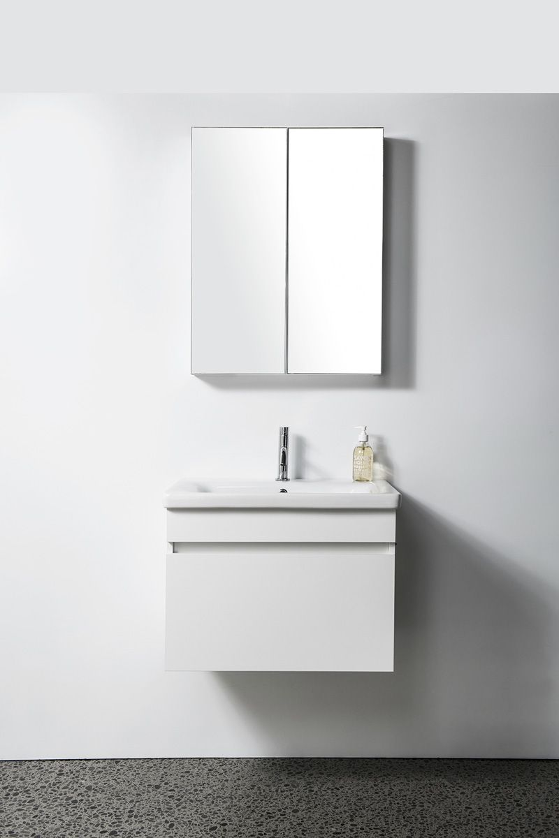 Soft Vanity - 650mm, wall-hung, 1 drawer
