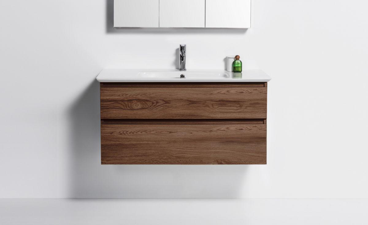 Sharp 1040 Wall-Hung Vanity 2 Drawers