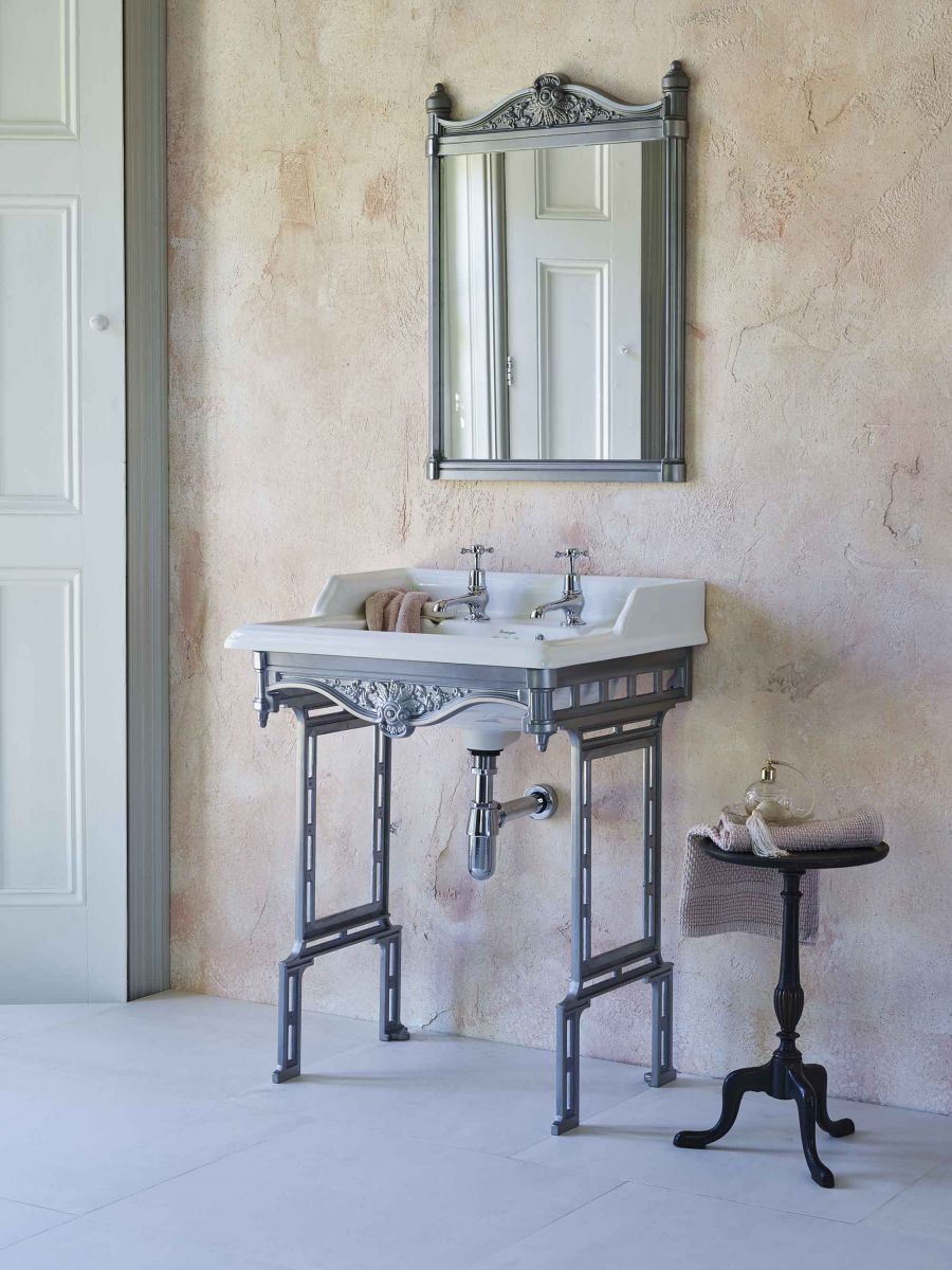 Classic Rectangle 650 Basin & Traditional Stand