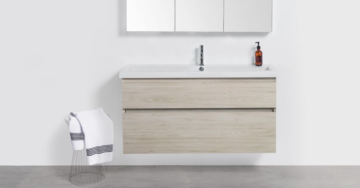 Cangas 1200 Wall-Hung Vanity 2 Drawers