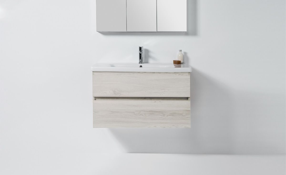 Soft 900 Wall-Hung  Vanity 2 Drawers