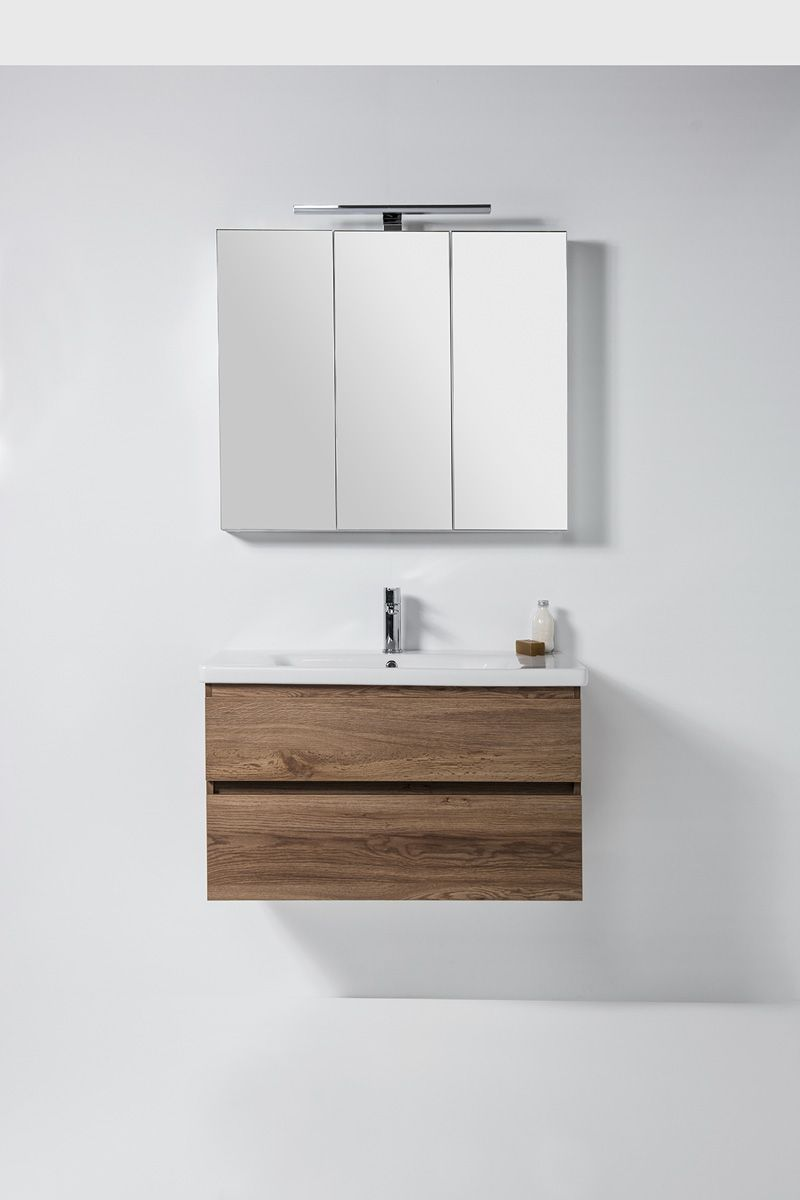 Soft Vanity - 900mm, wall-hung, 2 drawers