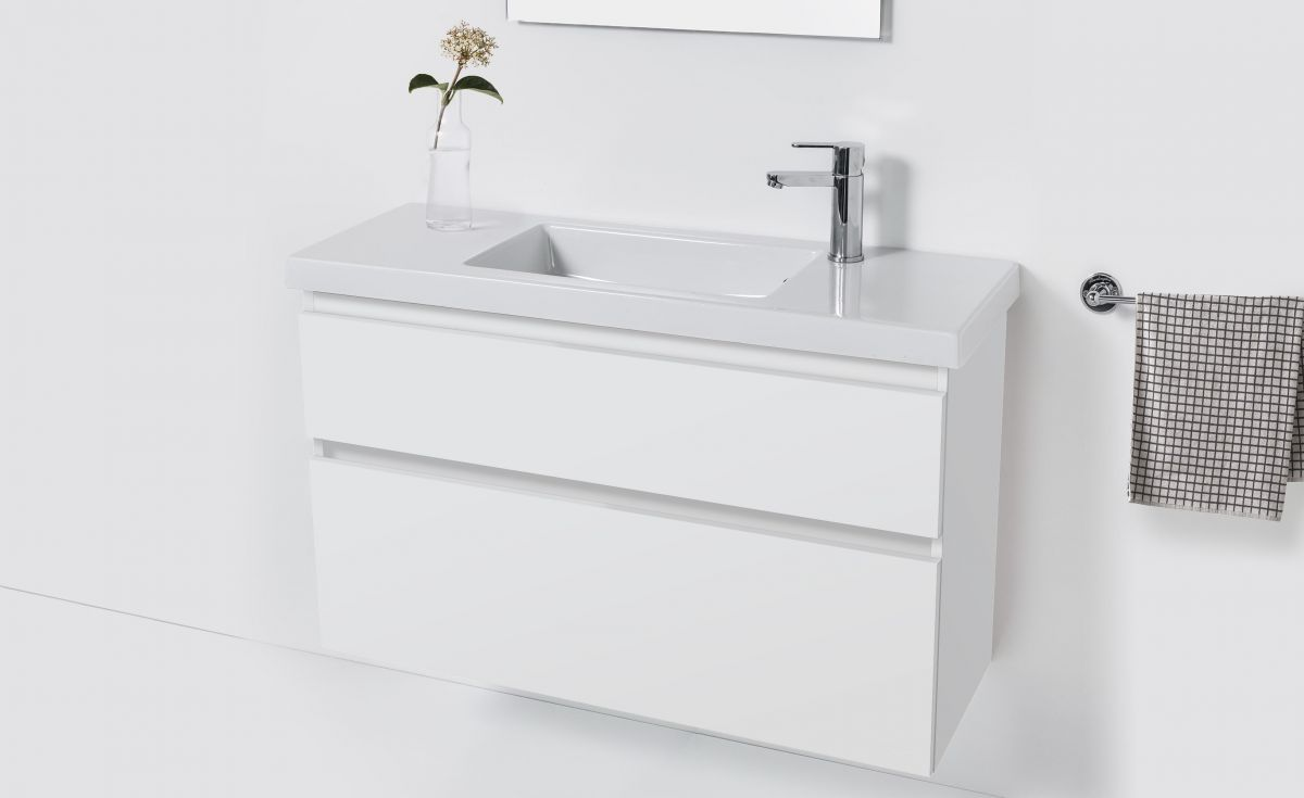 Cangas Slim 1000 Wall-Hung Vanity 2 Drawers