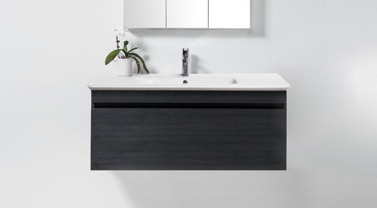 Sharp 1200 Wall-Hung Vanity 1 Drawer