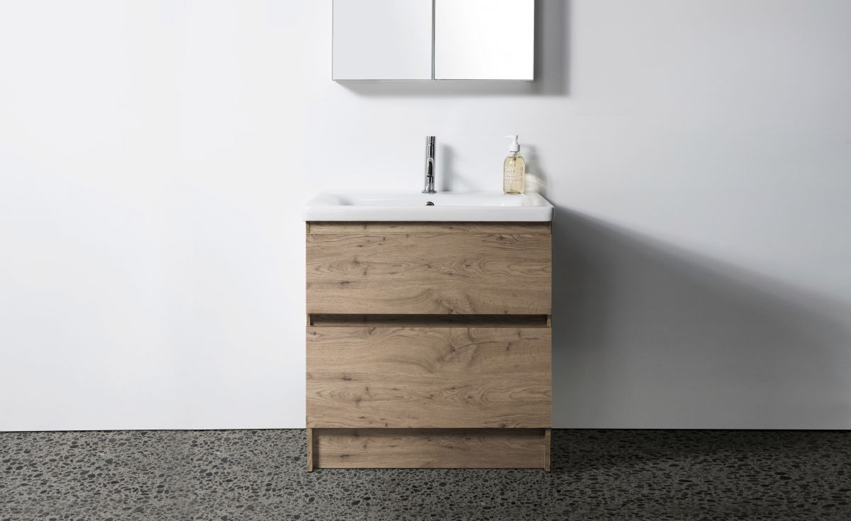 Soft 650 Floor-Standing Vanity 2 Drawers