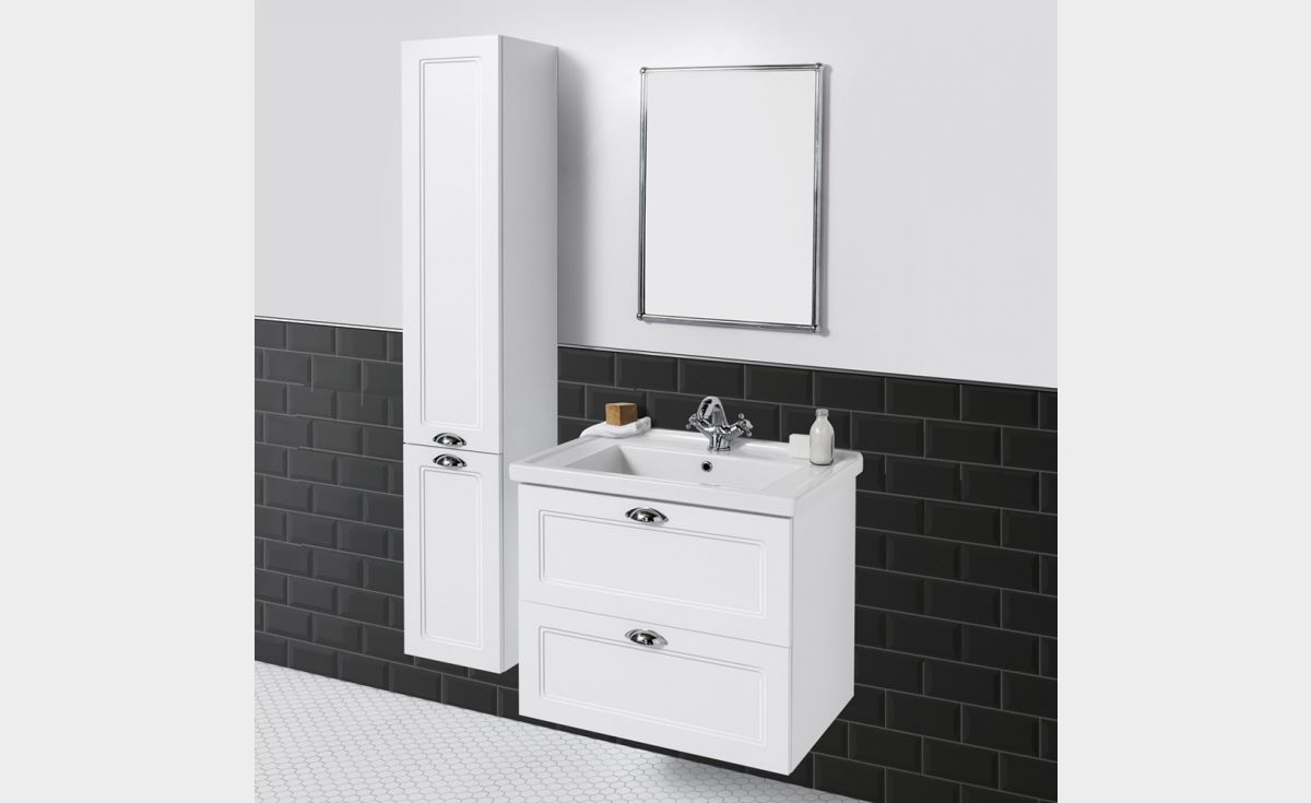 English Classic 700 Wall-Hung Vanity 2 Drawers