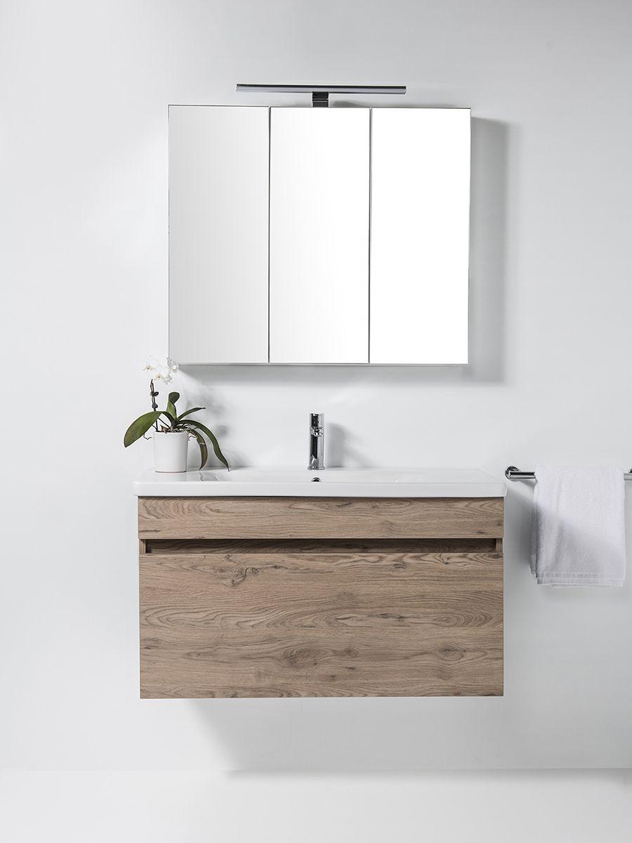 Soft Vanity - 1010mm, wall-hung, 1 drawer
