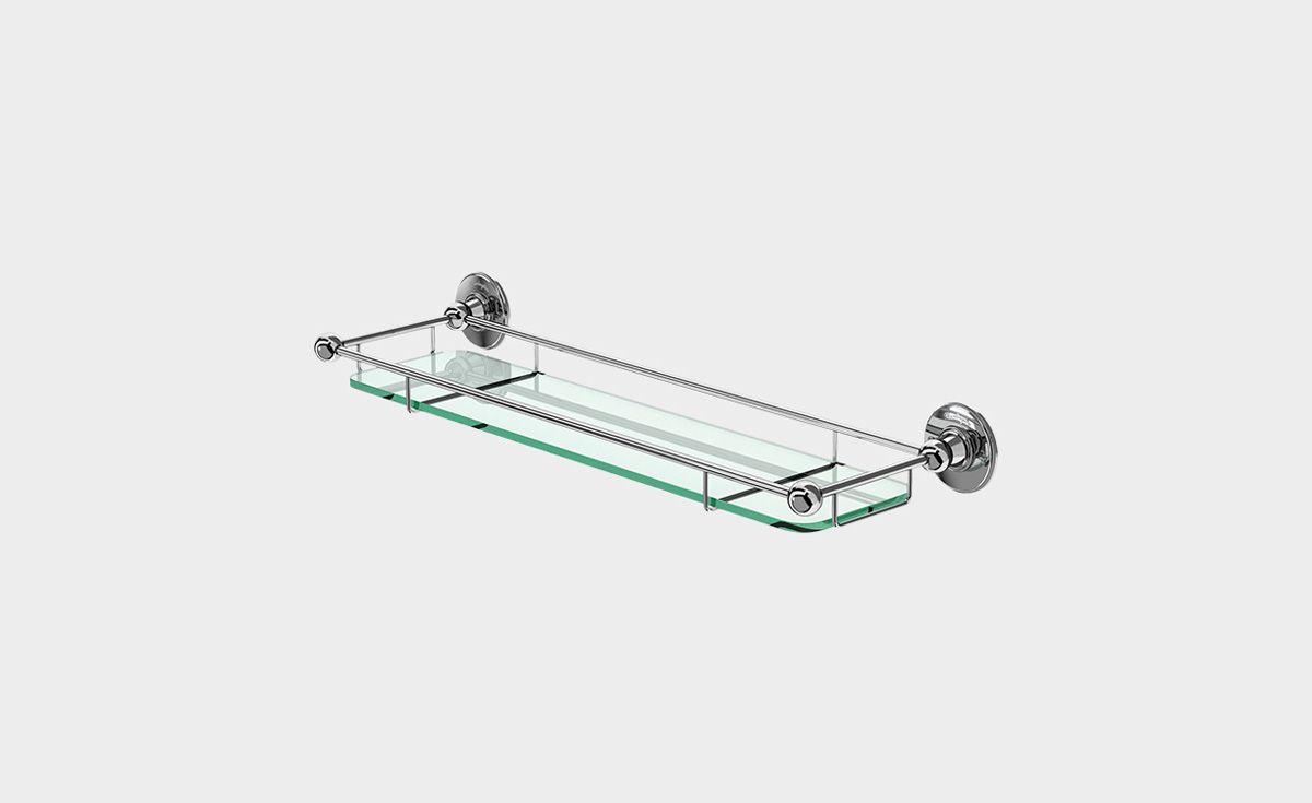 Shelf with Rail