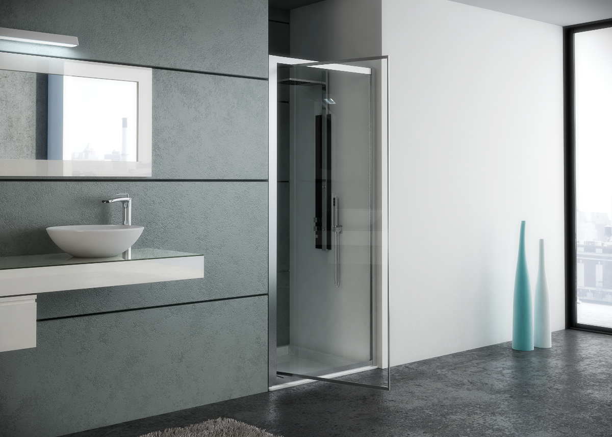 Lucca Infold Shower Bath Co