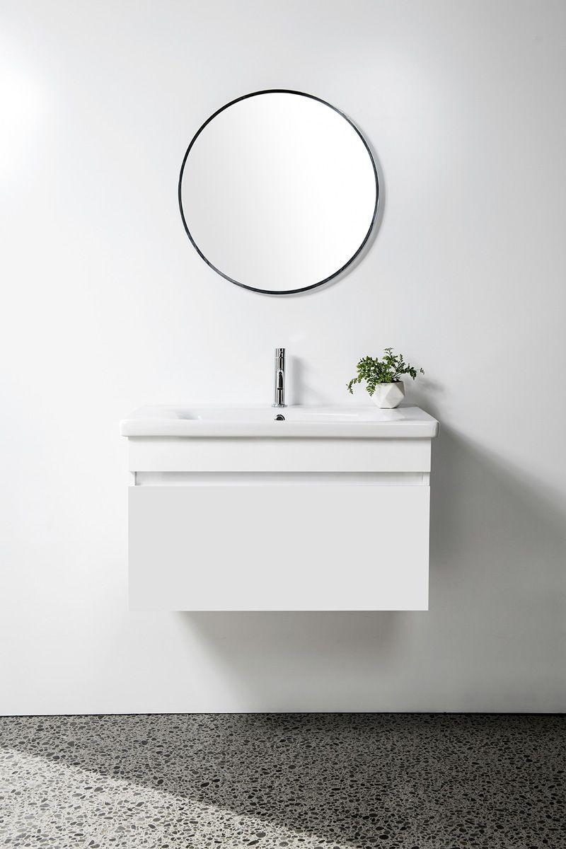Soft Vanity - 800mm, wall-hung, 1 drawer