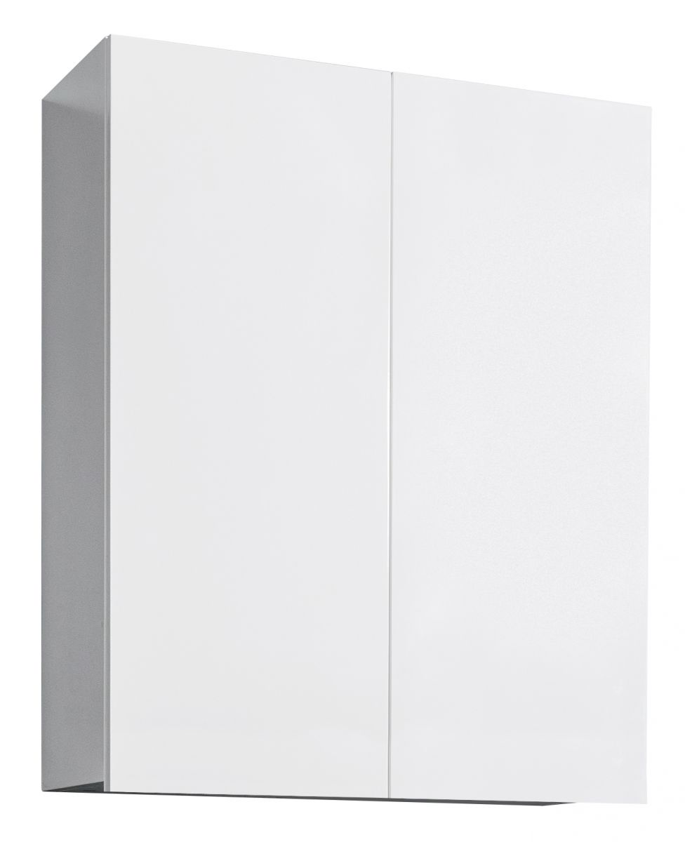 600 Laundry Top Cupboard, in White paint