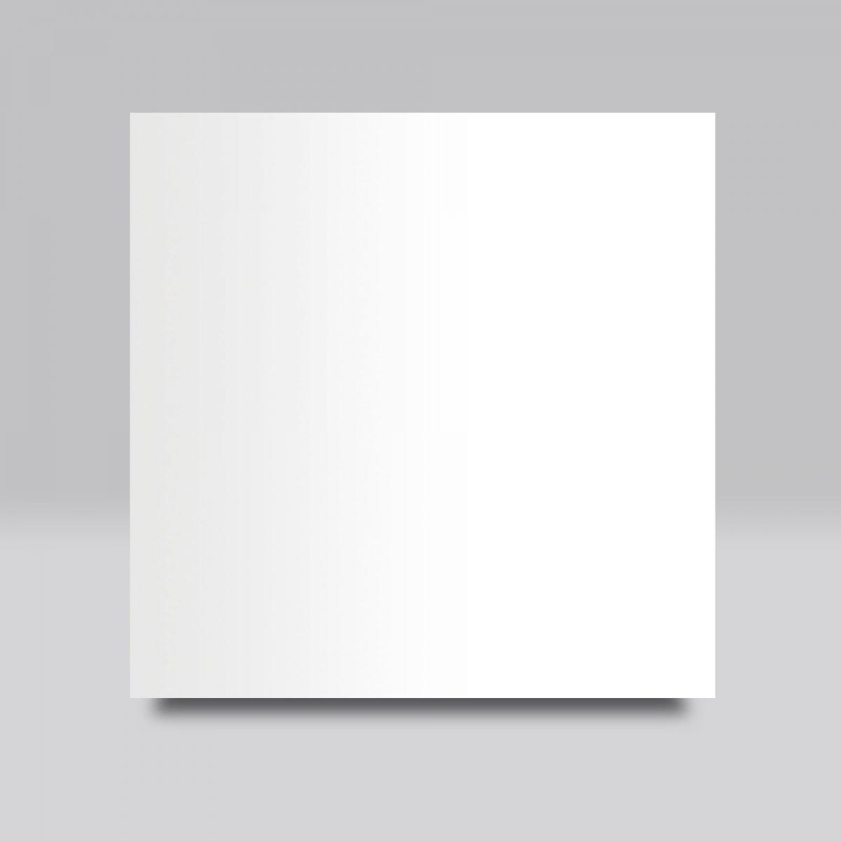 White paint finish