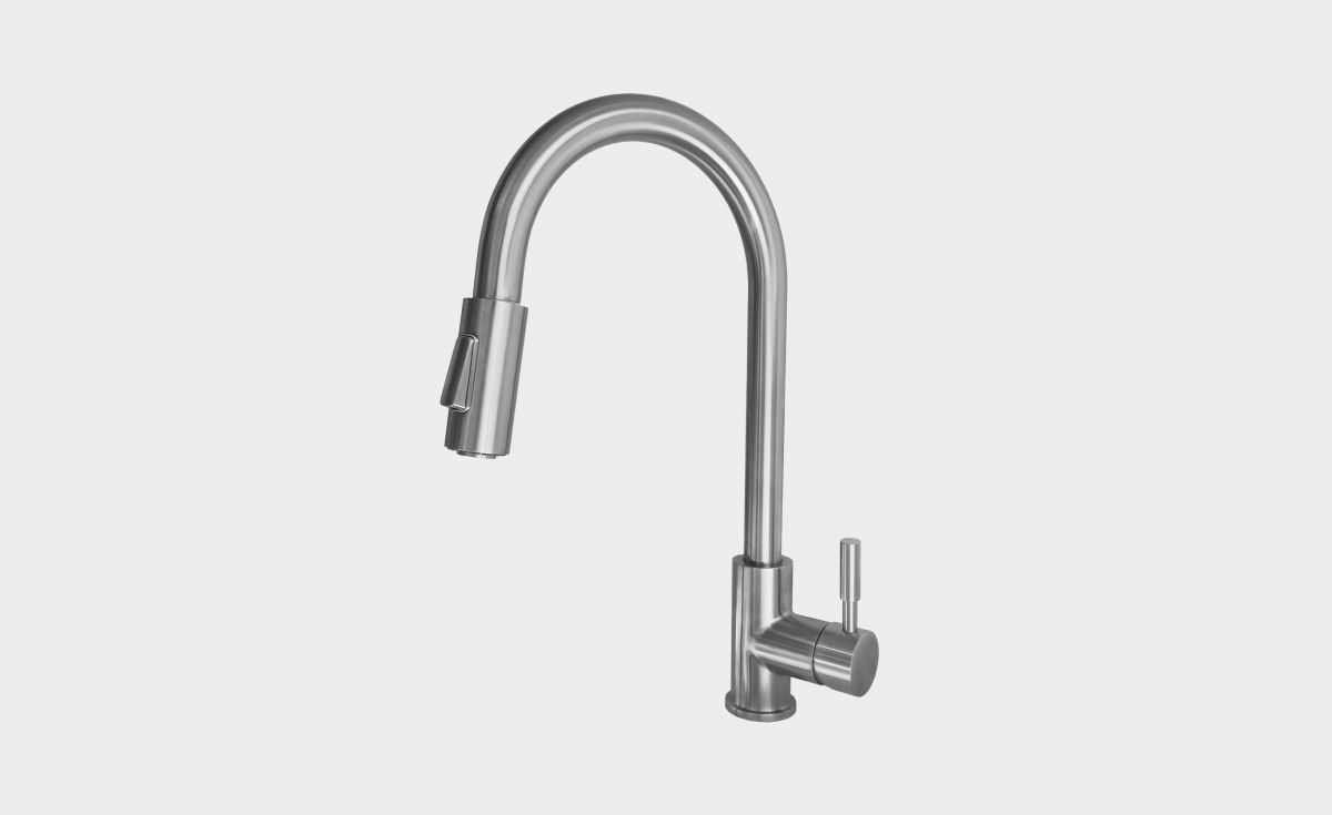 Laundry Mixer with Pull-Out Hose