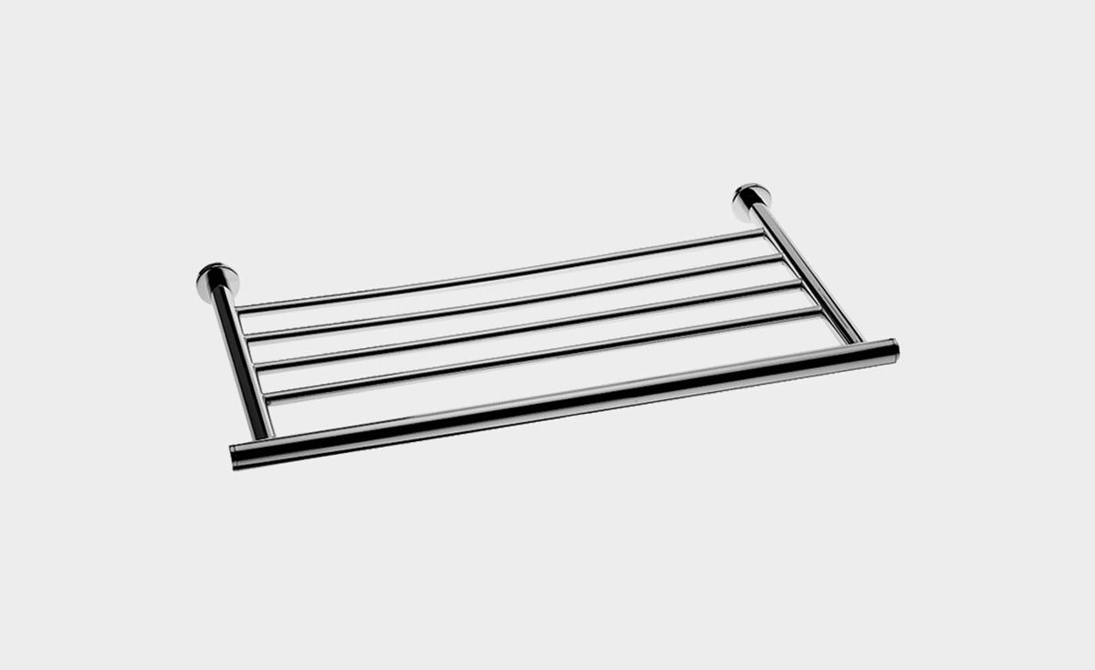 Cosmic Bracket Shelf Towel Rail 550