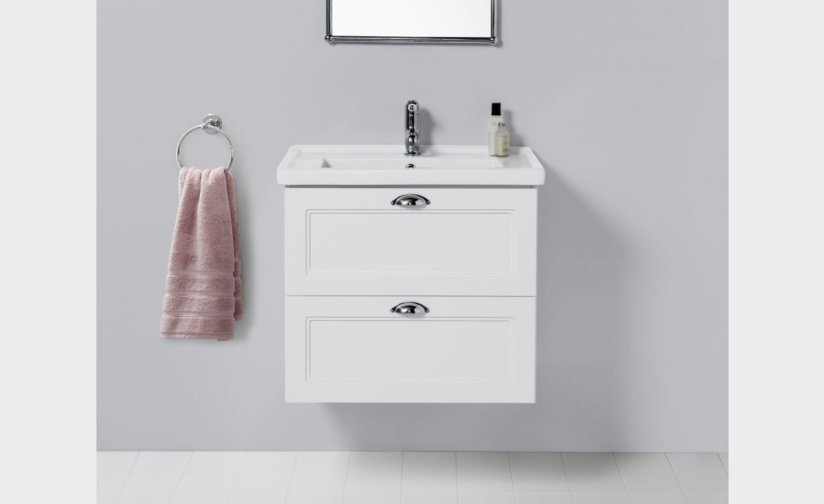 English Classic 600 Wall-Hung Vanity 2 Drawers
