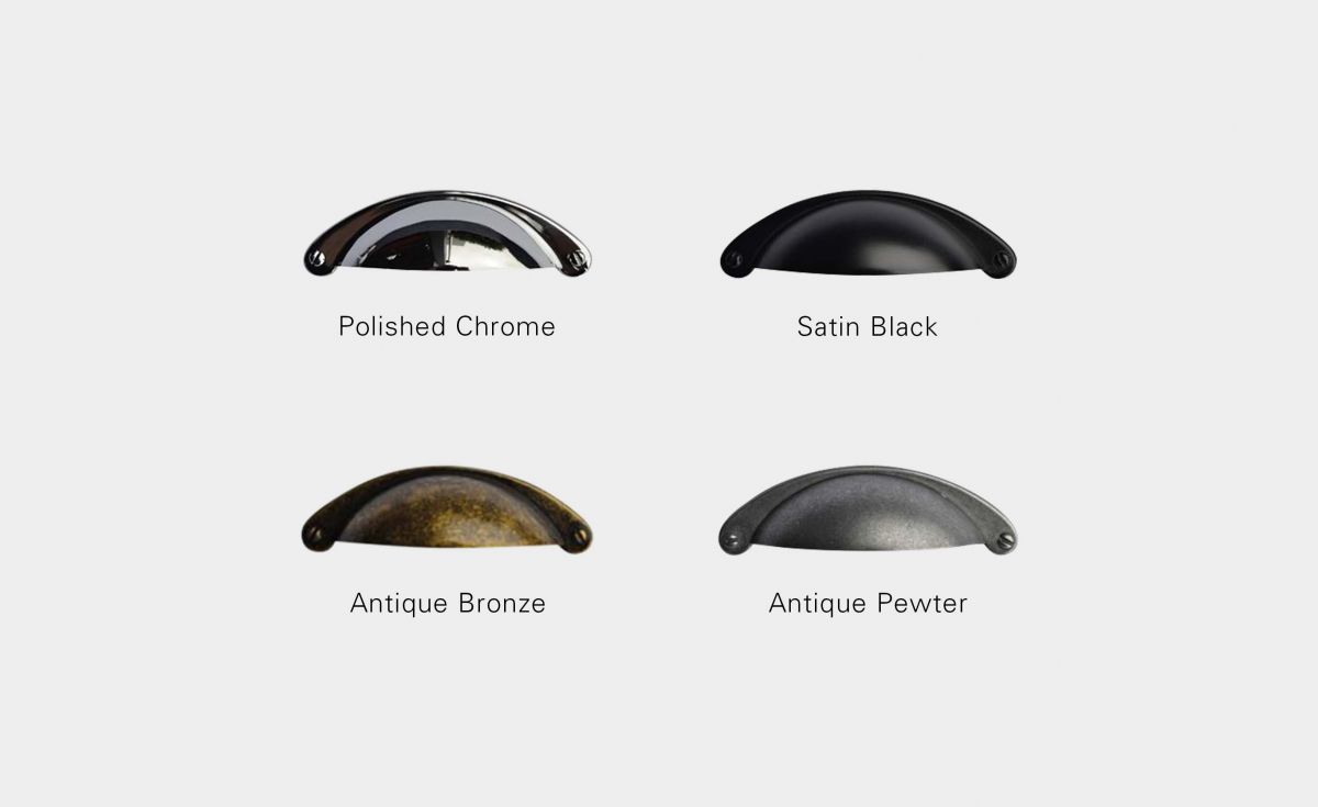 Traditional Handle Finish Options