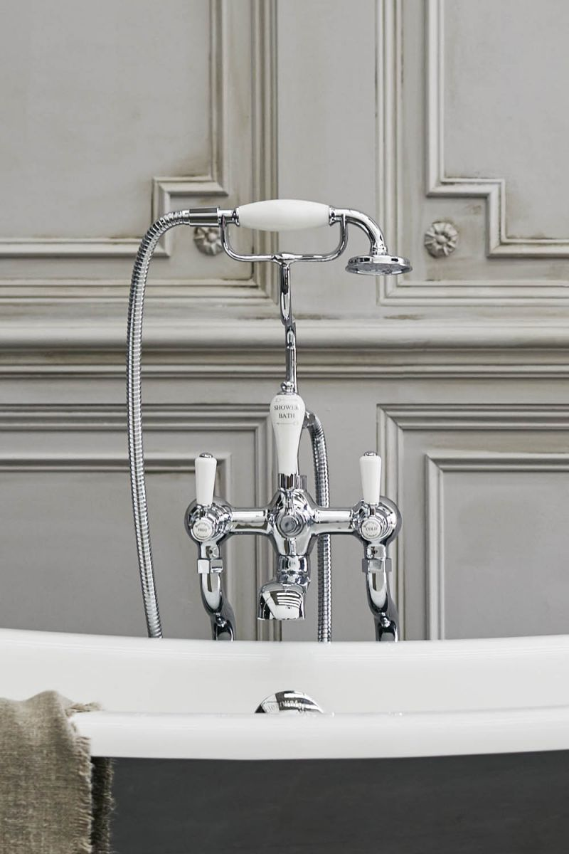 Kensington Deck Mounted Bath/Shower Mixer