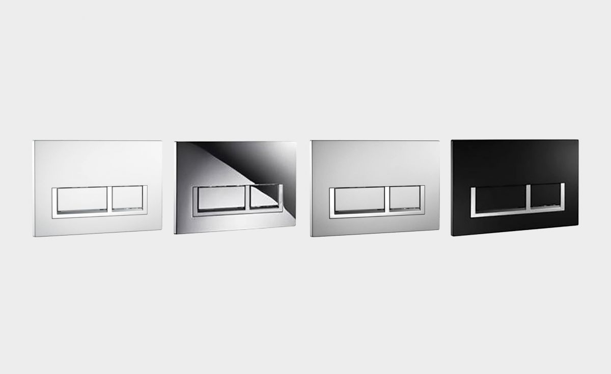 Rectangle Flush Plates