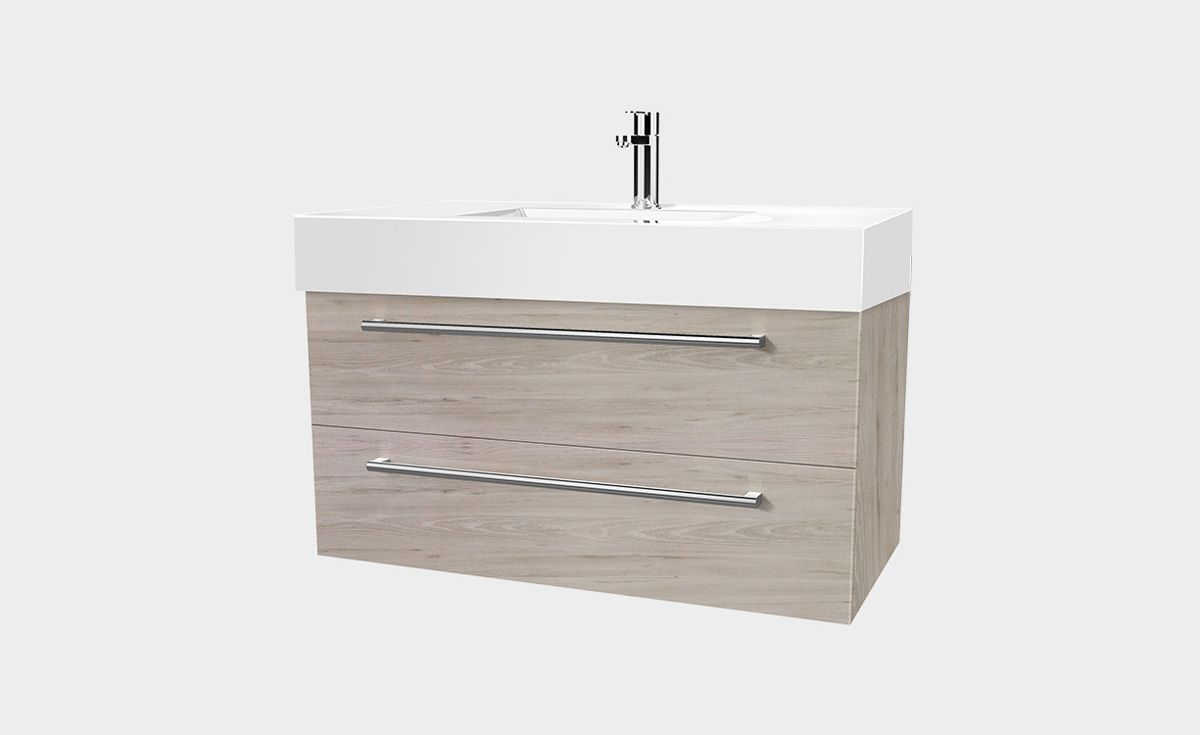 Splash 900 Wall-Hung Vanity 2 Drawers
