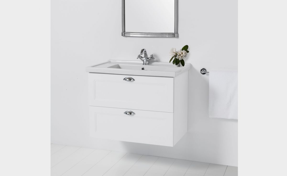 English Classic 800 Wall-Hung Vanity 2 Drawers