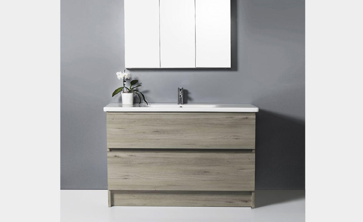 Soft 1000 Floor-Standing Vanity 2 Drawers