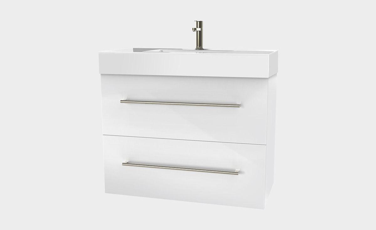 Splash 900 Wall-Hung Vanity 2 Extra Deep Drawers