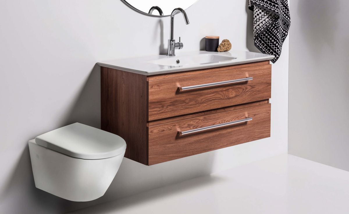 Rest Rimless Wall-Hung Toilet Suite with In-Wall Cistern