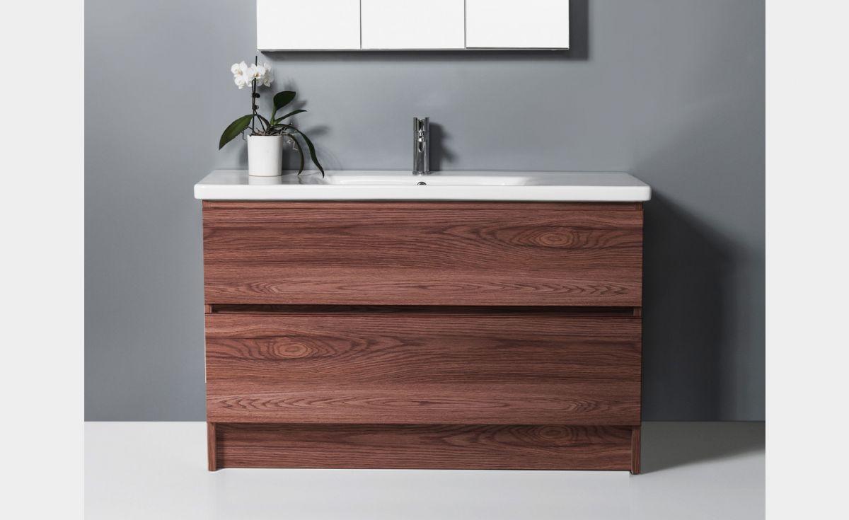 Soft 1200 Floor-Standing Vanity 2 Drawers