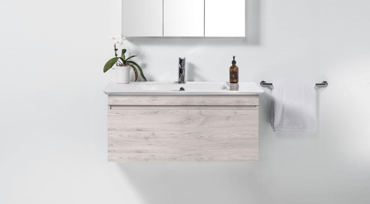 Sharp 1040 Wall-Hung Vanity 1 Drawer